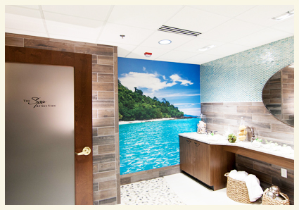 spa room for senior living
